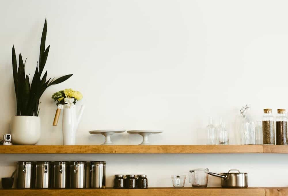 Diet for Minimalists - minimal kitchen